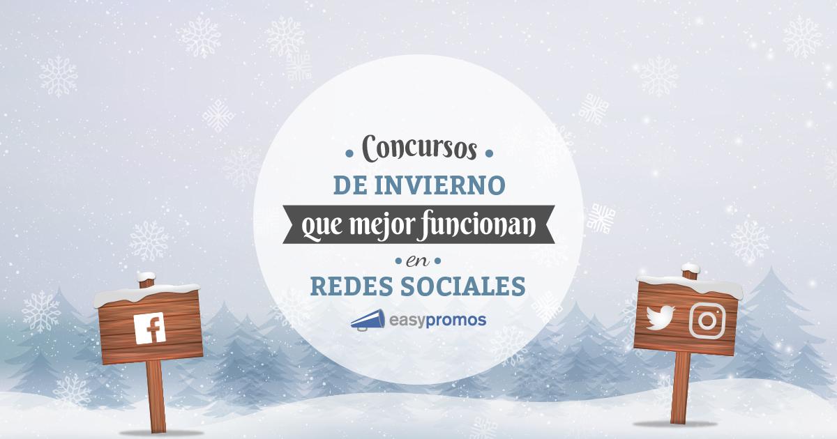 Concursos invierno redes sociales