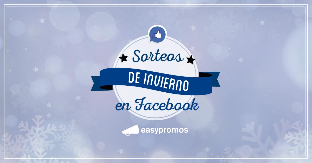 Sorteos invierno Facebook