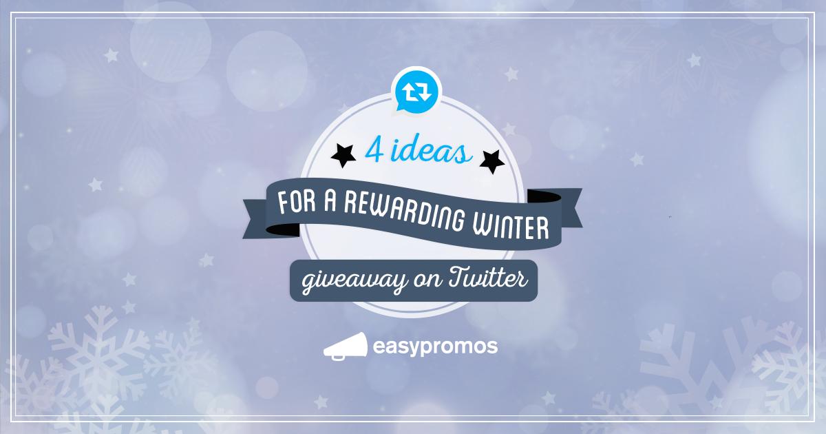 Twitter winter giveaways
