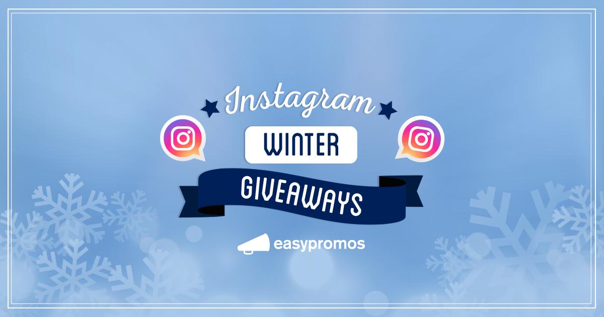 Instagram winter giveaways