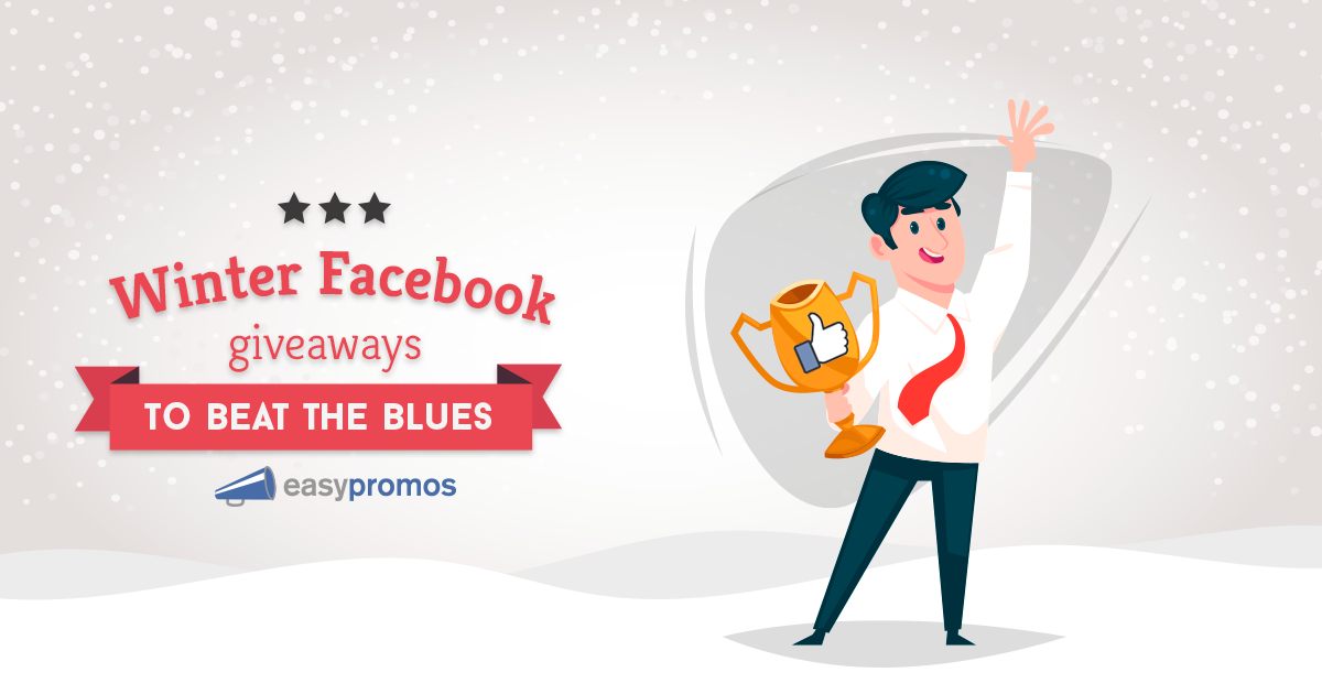 Winter Facebook giveaways